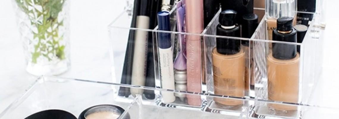 Organizador de maquiagem: 7 dicas incríveis!
