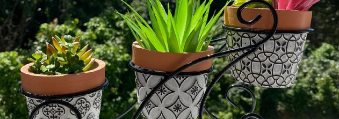 Cachepot e vasos decorativos: Inspire-se para dar mais charme à sua casa!